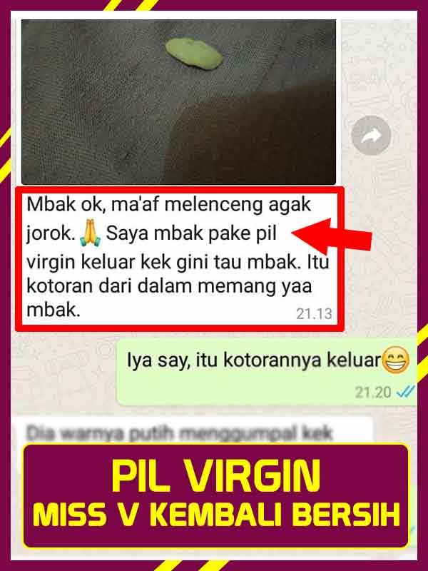 Review Pil Virgin Kemasan Pink Dan Testimoninya