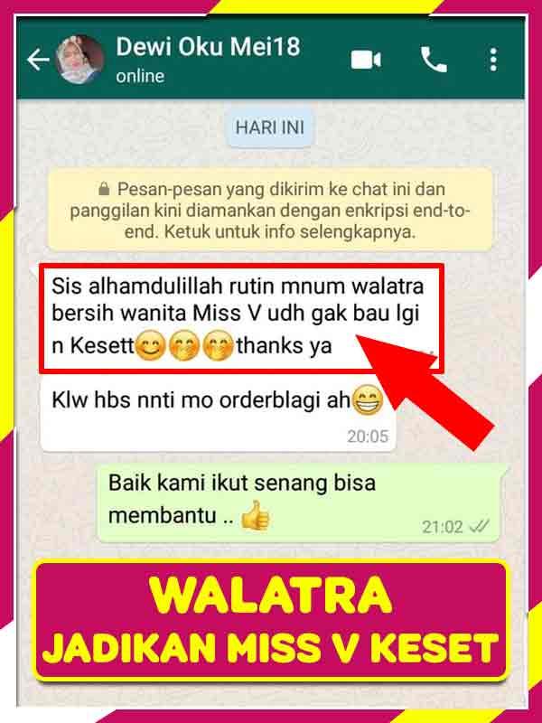 Review Promil Dengan Walatra Bersih Wanita